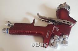 Devilbiss gti pro Base 1.4 spray gun with pps adapter spraygun GTI T1 air cap