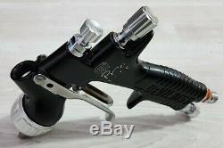 Devilbiss gti pro lite 1.3 black spray gun complete with brand new spraygun cup