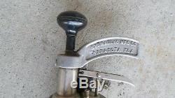 General Kinetic Water Ram Weight Tool Burst Air Shock Wave E16890-1 (KO) LOC