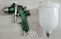 Genuine Devilbiss PRI PRO 1.4 spray gun complete with brand new spraygun cup /