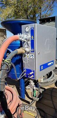 Graco Ecoquip 2 Vapor Abrasive Blaster, Wet Mobile Blasting System