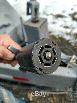 Graco EcoQuip EQ 400T Vapor Blaster 2014 375CFM Mobile Vapor Abrasive Sand Blast