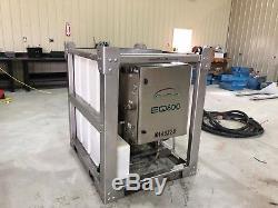 Graco Vapor Blaster Dustless Wet Blasting Ecoquip Eq600 50 Hrs New