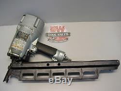 Hitachi Framing Nailer 21 Degree Stick Nailer Full Round Head (USED) Nail Gun