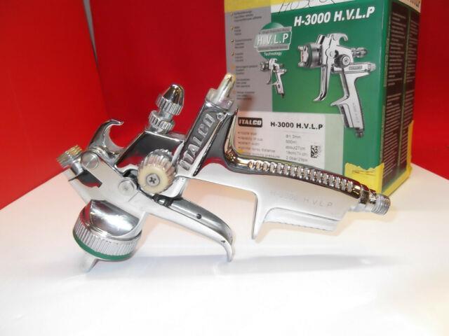 Italco H-3000 H. V. L. P Spray Gun Automotive Kit Withoriginal Box Super Clean! Usa