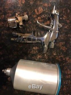 Iwata SuperNova WS400 EVO 13HD 1.3 Spray Gun WS-400 Cup DeVilbiss Regulator