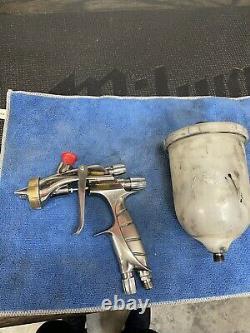 Iwata Supernova LS400 1.4 Tip, basecoat Cap, cup, preowned spray gun hvlp