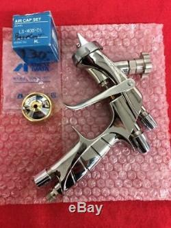 Iwata Supernova spray gun LS400 1.4 tip. With base and clear coat air caps