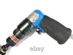 JIFFY PANCAKE DRILL 1/4-28 5 REACH AIR TOOL 2700 RPM Aircraft Tools