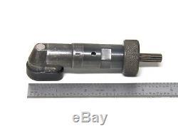 Jiffy 90 Degree Heavy Duty Drill Head # 18107A 1/4-28 Thread