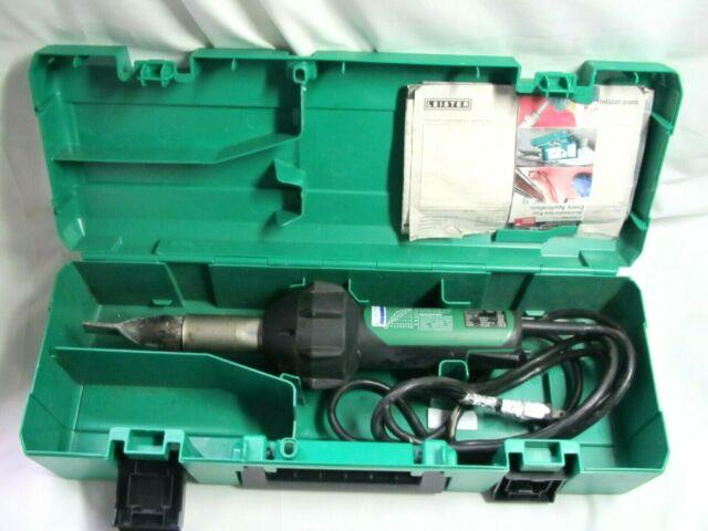 Leister Triac St Hot Air Tool 141.228 Plastic Welder With Case Good Working