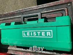 Leister heat gun, Hot air tool, Triac