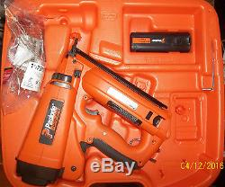 Lightly Used Paslode IM250A 16-Gauge Cordless Angled Finish Nailer NO CHARGER
