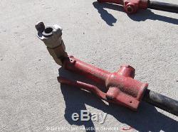 Lot of (3) Harper Air Tools Powder Puff Pneumatic Backfill Tamper bidadoo