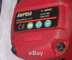 MAC AWP050 1/2 Air Impact WrenchTitanium