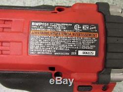 MAC BWP151 1/2 Impact BRS025 1/4 Ratchet with Bag