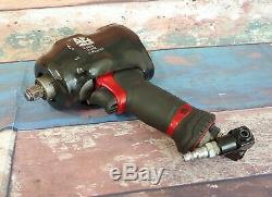 MAC TOOLS MPF990501 High Performance 1/2 Drive Air Impact Wrench Tool Bundle