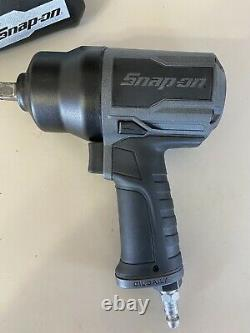 MINT! SNAP-ON PT850GM GUN METAL 1/2 Dr Air Impact Wrench PT850- FREE SHIP! MINT