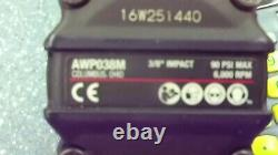 Mac Tools 3/8 Drive 6000 RPM Mini Pneumatic Impact Wrench AWP038M