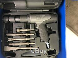 Matco Long Barrel T-Handle Air Hammer MT1719 with chisel kit