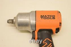 Matco MT2769 1/2 Heavy Duty Air Impact Wrench Gun 7500 RPM Orange