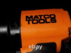 Matco MT2779 1/2 Drive Composite Impact Wrench in Orange EXC Low Use