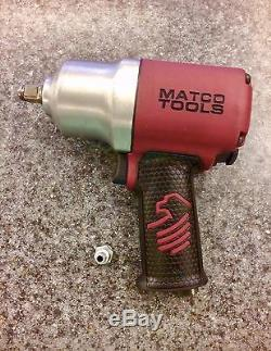 Matco Tools 1/2 Impact Wrench Mt2769 Pneumatic Air Tool