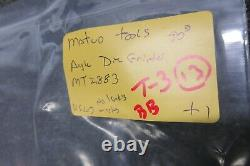 Matco Tools 90 Right Angle Die Grinder 18,000 Rpm MT2883 Automotive Panel Repair