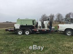 Mobile Blasting System includes Dry ICE, Soda, Glass Bead and Aluminum Oxide