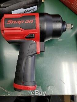 NEW Snap On PT850 1/2 Drive Air Impact Wrench With COVER UN-USED! (E10)