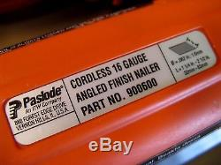 NICE! Paslode Cordless 16 Gauge Angled Finish Nailer 900600