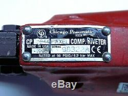 Nice Chicago Pneumatic Tandem Cylinder C Rivet Squeezer CP214 FAXEL