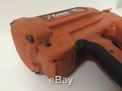 PASLODE 900420 CORDLESS FRAMING NAILER NAIL GUN Case Batteries Charger Build