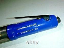 Pan American Nova Systems 1/4-28 Right Angle Air Drill 900RPM Aircraft Tool