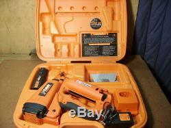 Paslode cordless 16-gauge angled finish nailer nail gun 900600 16ga