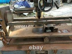 Peterson Model TCM-25 Seat and Guide Machine with some Tooling. Air float table