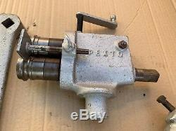 Pexto Roper Whitney Beading/Crimping Machine Tool Model 0581 24G