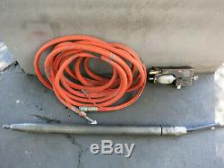 Piercing Tool Mole Missile 3 Underground Boring Pneumatic Ditch Witch 3 Inch