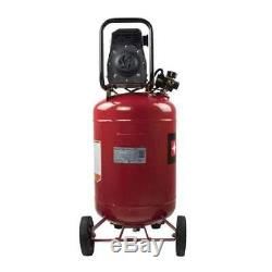 Porter Cable 1.5 HP 20 Gallon Oil-Free Vertical Air Compressor (Used)