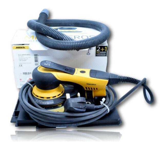 Professional Mirka Deros C50cv Central Vacuum Direct Electric Orbital Sander