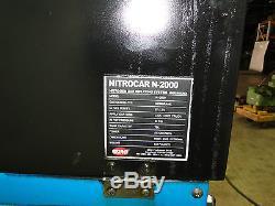 QMI NITROCAR nitrogen gas tire inflating system inflator machine