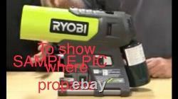 RYOBI 18V ONE+ 15k BTU Hybrid Forced Air Propane Heater- Box & Tool ONLY USED 1x