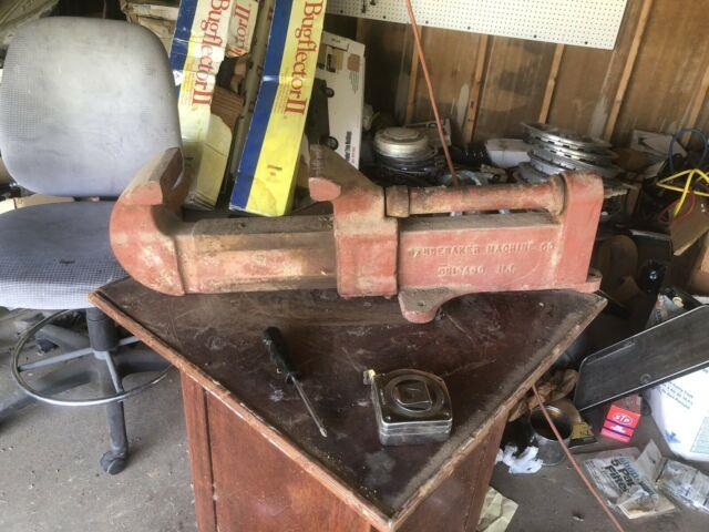 Rare Antique Studebaker Machine Company Air Vise Model 110