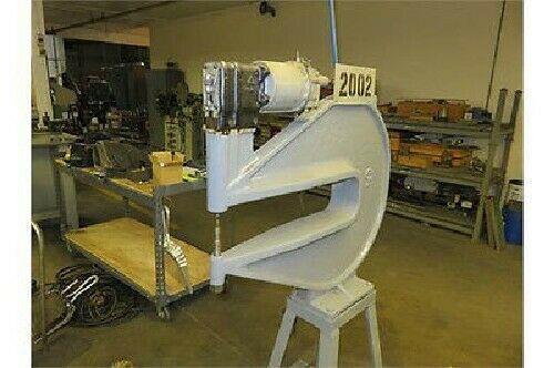 Rare Chicago Cp-450 Pneumatic Compression Riveter, 24 Deep Throat