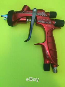 Red Custom Anest Iwata WS-400 Pininfarina Spray Gun Tip WS-400-01 Never Used