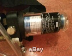 SATA 51854 Vision 2000 Respirator System Full Mask & Belt