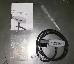 SATA DAA1001K DanAm Air Vac Clearcoat Detailing Vacuume Kit LIKE NEW