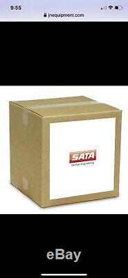 SATA JET 100 BF HVLP 1,7 Full Rebuild, Primer/Filler Gun Original Box With Extra