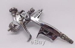 SATA JET 4000B RP DIGITAL 1.3mm Spray Gun DAMAGED LCD GAUGE