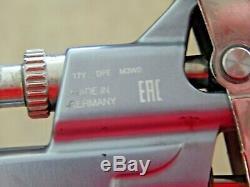SATA Jet 100 B F RP Spray Gun 1.6 Tip with DeVil Biss Orange Digital Pressure GA